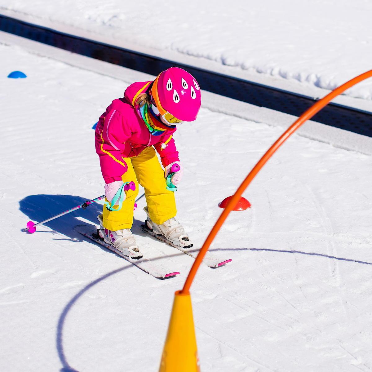 Skischule Lermoos Gruppenkurs Kinder
